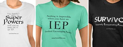 T-shirts: Finding Humor in the IEP Process