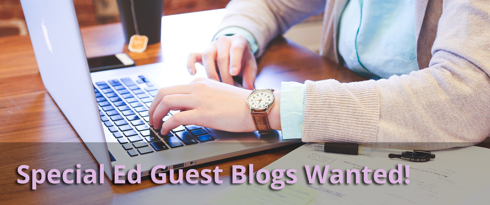 Special Ed Guest Blogs Wanted